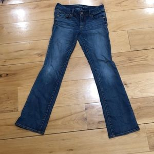 American Eagle Outfitters Size 8 Kick Boot Jeans